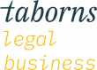 Taborns Legal Business Logo